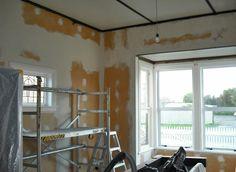 Interior prep work