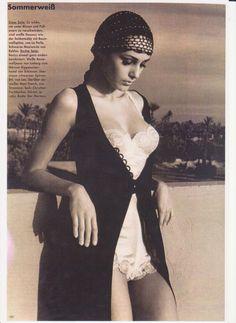 Agnieszka Kotlarska, Photo by Albert Watson _ Vogue Germany, June 1993