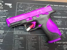 103 Best Guns for the ladies! Pink, Purple, Diamond Blue