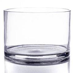 Shindigz 4 x 6 Cylinder Glass Vase Painted Glass Vases, Clear Glass Vases, Glass Art, Cylinder Vase, Bud Vases, Terrarium Containers, Glass Planter, Unique Centerpieces, Hanging Vases