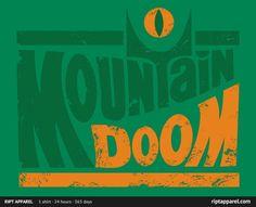 One shirt to rule them all! Taste the Doom Shirt: A T-shirt for Men, Woman, Kids | RIPT Apparel