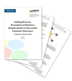 Linking Process, Procedures & Business Requirements to Successful Customer Outcomes