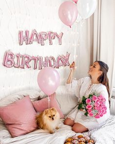 Super Ideas For Happy Birthday Surprise Ideas Gift Birthday Ideas For Her, Birthday Girl Pictures, Birthday Goals, 26th Birthday, Birthday Photos, Girl Birthday, Happy Birthday Balloons, Happy Birthday Me, Fotos Baby Shower