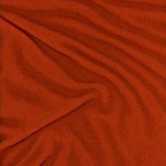 Merinostrick orange terracotta