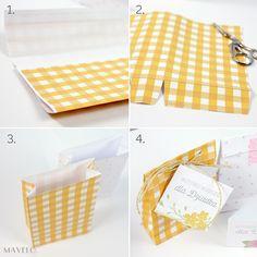 papierowa torebka na prezent do wydrukowania