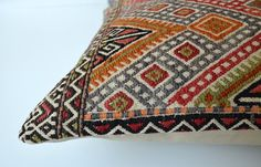 Sukan / Organic Modern Bohemian Throw Pillow Handwoven by sukan, $329.95
