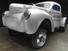 1941 WILLYS AMERICAR SILVER DOLLAR DRAG PICKUP - Barrett-Jackson Auction Company - World's Greatest Collector Car Auctions