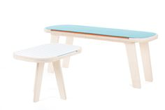 Slim Touch Table Butterfly Blue by rform