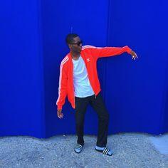 "Simon NNdjock | SAU inspiring on Instagram: ""Strike a pose with my wall ✌️"""