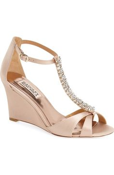 e65a757ab49 Badgley Mischka  Romance  Wedge Sandal (Women) available at  Nordstrom  Wedding Wedges