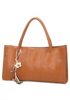 Cute bag. Caramel color rocks:)