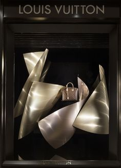 LV Proto Gehry 2334 Louis Vuitton Window Displays by Frank Gehry