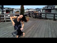 Dancing fun on a houseboat deck