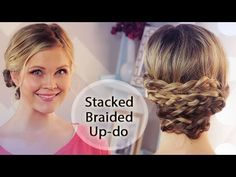 Stacked Braided Up-do!!