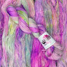 Imagine, sock yarn, #beafreakingunicorn Fingering Yarn, Blackbird, Finger Weights, Sock Yarn, Fiber, Studio, Purple, Unique Jewelry, Handmade Gifts