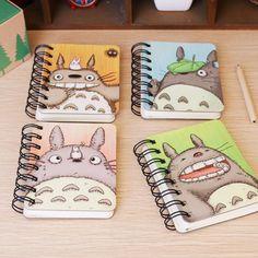 1 Unids 2017 Lindo Mi Vecino Totoro Libreta Del Diario Del Cuaderno Espiral Tapa Dura Libro de Bolsillo Portátil H0783