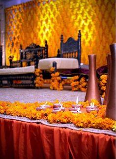 Mehndi #marigolds