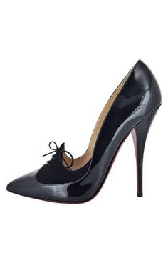 Fall and Winter Heels: Christian Louboutin Queue de Pie Black Pump