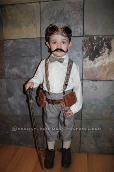 Victorian Explorer Steampunk Costume for a Toddler... Coolest Homemade Costumes