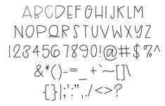 Uppercase Font - Fonts - Ideas of Fonts - KarlaStorey Uppercase Font Hand Lettering Fonts, Doodle Lettering, Print Fonts, Creative Lettering, Lettering Styles, Lettering Tutorial, Handwriting Fonts, Brush Lettering, Penmanship