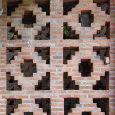 Plant Troughs, Brick Images, Indian Coffee, Narrow Staircase, Brick Art, Brick Detail, Brick Architecture, Brick Design, Wall Fans