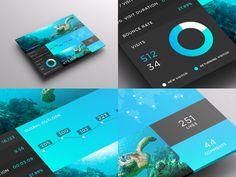 SJQHUB™ // Visual Data UI dashboard by Jonathan Quintin, via Behance  #responsivedesign #responsive #design #web #webdesign #UI #UX #branding #Amazing #GUI