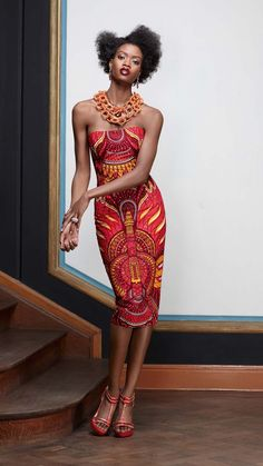 Oser Conception | Vlisco V-Inspired ~Latest African Fashion, African Prints, African fashion styles, African clothing, Nigerian style, Ghanaian fashion, African women dresses, African Bags, African shoes, Nigerian fashion, Ankara, Kitenge, Aso okè, Kenté, brocade. ~DKK
