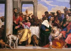 Cena in casa del fariseo (1556; Torino, Galleria Sabauda)