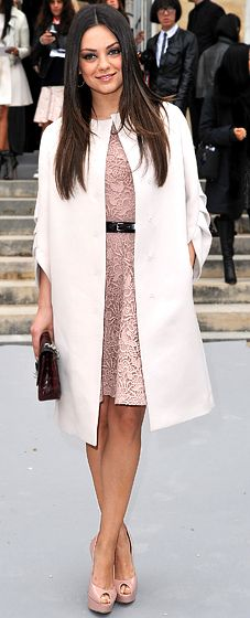 Mila Kunis in Christian Dior