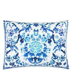 Designers Guild Cellini Cobalt cushion