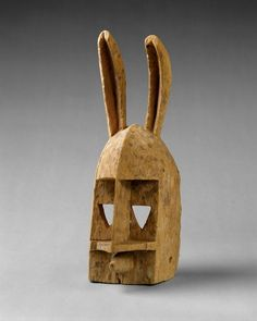 Mask: Rabbit (Dyommo)19th – mid-20th century Dogon Mali, Bandiagara region