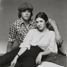"""""""The world has lost Terry O'Neill- one of the all-time great photographers. Carrie & I were aware of his status, making us even more nervous than usual. His humor & personality made us laugh, have fun & allowed us to relax- so we could just be ourselves. Carrie Frances Fisher, Terry O Neill, Star Wars Cast, Han And Leia, Classic Movie Stars, I Miss Her, Mark Hamill, Great Photographers, Love Stars"""