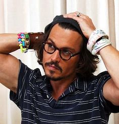 hrrr. if i happened to meet johnny depp in the street, my clothes would accidentally come off.