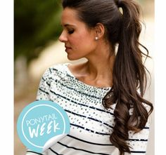10 Curly Hair Ponytails to Change Up YourLook   Beauty High