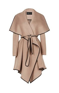 Bcbgeneration Woman's Cameron Taupe Wool Leather Trim Wrapped Belted Trench Coat (XS) – Coat of arms Fall Outfits, Fashion Outfits, Womens Fashion, Fashion Trends, Office Outfits, Emo Outfits, Cute Casual Outfits, Skirt Outfits, Gilet Kimono