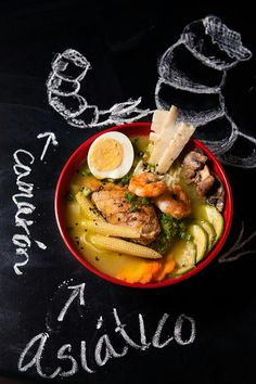 Asian noodles & shrimp / Ramen de camarón (Photo by Luis Sandoval / Agridulce)