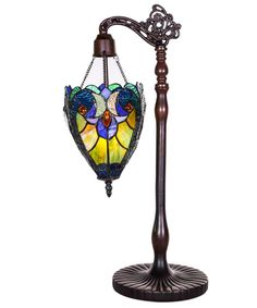 "Halston Sidearm Pendant 22.75"" H Table Lamp with Novelty Shade"