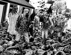 charlie adlard the walking dead -