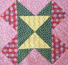 Civil War Quilts: A Color Scheme of Primaries - Old Maid's Puzzle