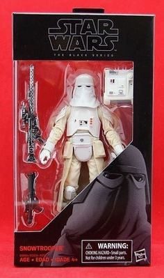 "Snowtrooper Star Wars the Black Series 6"" Action Figure Wave 9 Hasbro Toy New by HeroesandVillainsToy on Etsy"