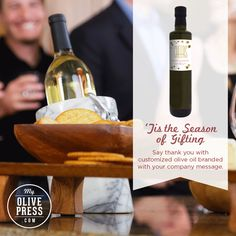 Let us help you create a custom label for your corporate giving!  #realtors, #realestateagents #realestate #corporategift #evoo #oliveoil #branded #custom #personalized