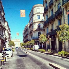 Montpellier in Languedoc-Roussillon