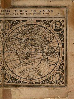 Sechsundzwanzig Schiffahrten - Levinus Hulsius - Google Books Vintage World Maps, Google, Books, Travel, Libros, Viajes, Book, Destinations, Traveling