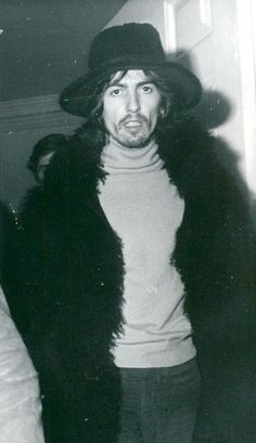 If I could have just one garment in this whole world: George's Mary Quant fur coat.