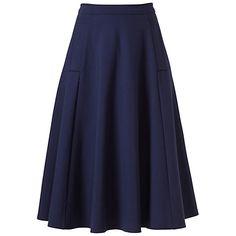 Buy Winser London Full Circle Skirt, Midnight Online at johnlewis.com