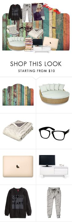 """""""Lazy day"""" by scarcrazy ❤ liked on Polyvore featuring interior, interiors, interior design, home, home decor, interior decorating, Walls Need Love, Sunset West, OKA and ZeroUV"""