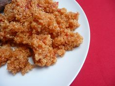 Quinoa de tomate