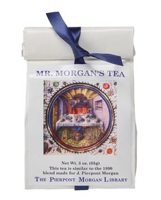This tea is similar to the 1890 blend made for J. Pierpont Morgan.Re-usable teabag included. Brews 50 to 60 cups.
