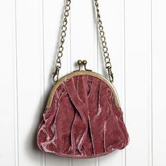 Oh so pretty :) http://www.shopruche.com/valentina-velvet-crossbody-coin-purse-in-mauve-p-9357.html