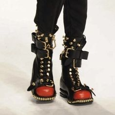 Cool Outfits, Fashion Outfits, Tumblr Outfits, Red Hood, Costume Design, Harley Quinn, Rubber Rain Boots, Kicks, Punk